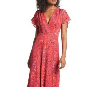 Frances Drape Maxi Dress